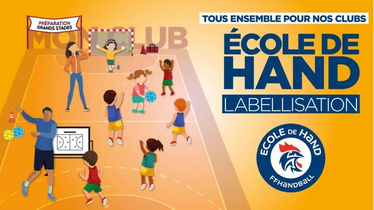 Label école de Hand - Handball