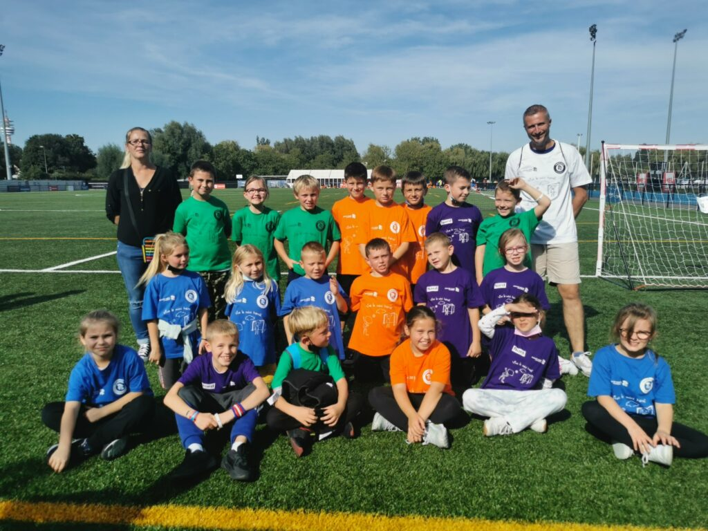 la journée nationale du sport scolaire avec l'école Emile Zola de Valenciennes